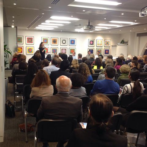 "NCiFoundations at ""Putting Soul Back into Business Event, 2015. London UK. Making an awareness for NCiFoundations works"